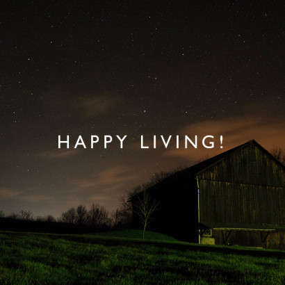 Happy Living!